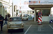 Checkpoint Charlie 1989, from http://en.wikipedia.org/wiki/Checkpoint_Charlie